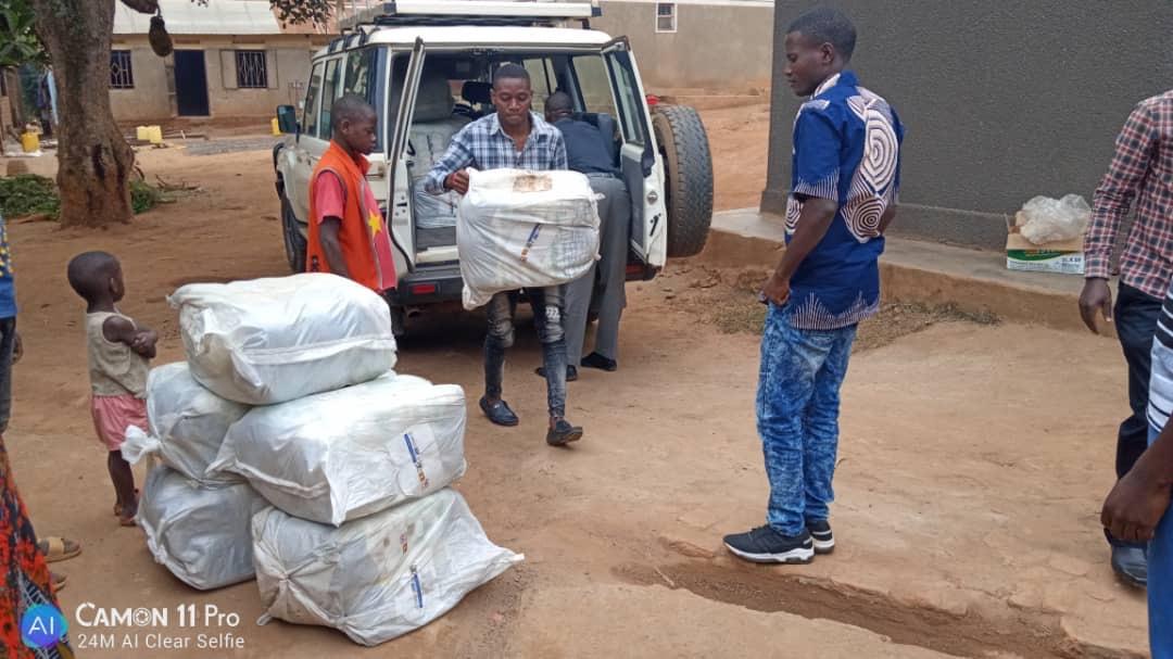 Peace Corps Donates Mosquito Nets
